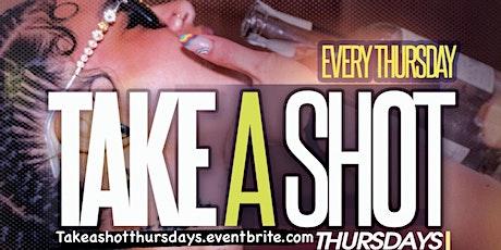 Take A Shot Thursdays Happy Hour Taj Lounge Hookah NYC Event Open Mic Party tickets