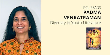 Diversity in Youth Literature with Padma Venkatraman: PCL READS Author Talk tickets
