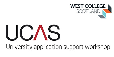 UCAS Application Support Workshop - Clydebank Campus Students tickets
