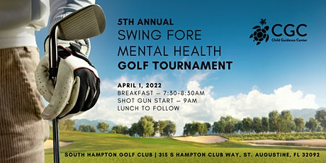5th Annual Swing Fore Mental Health Golf Tournament tickets