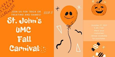 St. John's UMC Fall Carnival tickets