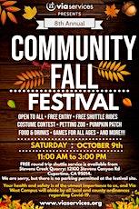 8th Annual Community Fall Festival tickets