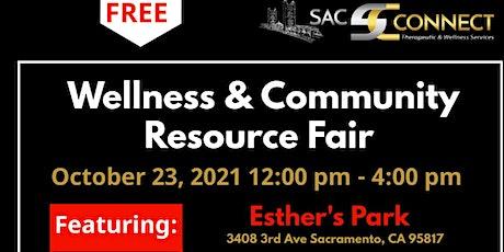 Wellness & Community Resource Fair tickets