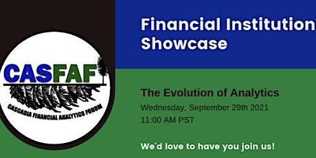 FI Showcase: The Evolution of Analytics tickets
