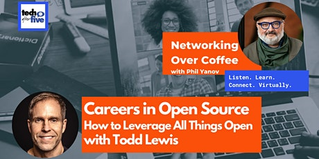 Networking Over Coffee | Careers in Open Source with Todd Lewis tickets