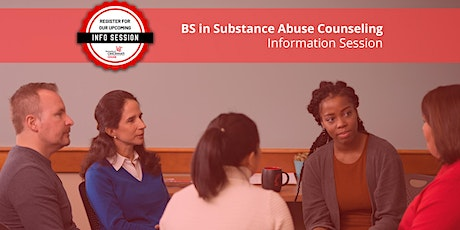 Information Session - Substance Abuse Counseling (BS SACN) tickets