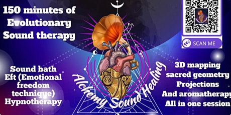 SACRED GEOMETRY EXTENDED 150 MINUTE GONG BATH  WITH  EFT/241 TICKETS/LONDON tickets