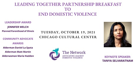 Leading Together Partnership Breakfast to End Domestic Violence tickets