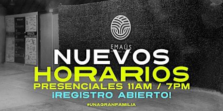 SERVICIO PRESENCIAL - DOMINGO 19 DE SEPTIEMBRE entradas