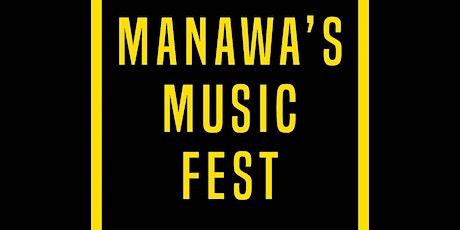 Manawa's Music Festival tickets