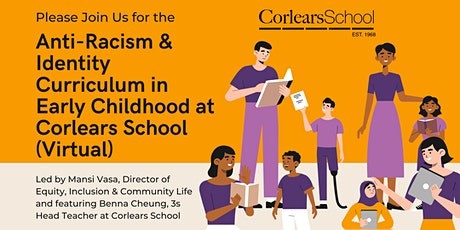 Anti-Racism and Identity Curriculum in Early Childhood at Corlears School tickets