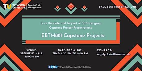 Fall Capstone Project Presentation - EBTM 881 tickets