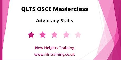 QLTS OSCE Masterclass - Advocacy tickets
