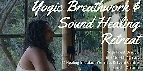Yogic Breath work & Sound Healing Retreat tickets
