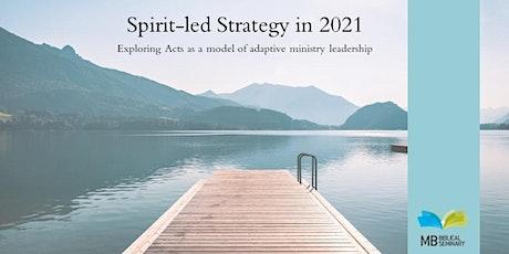 Spirit-Led Strategy - Linden MB Church tickets