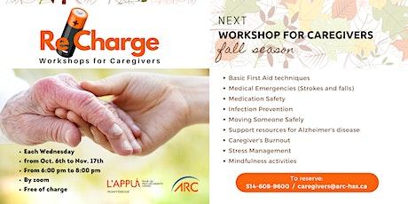 ReCharge - Workshops for Caregivers tickets