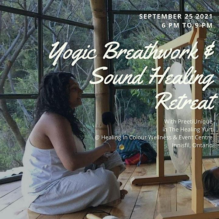 Yogic Breath work & Sound Healing Retreat image