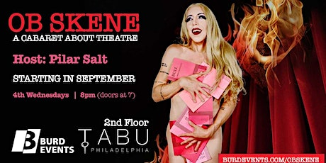 Ob Skene: a cabaret about theatre tickets