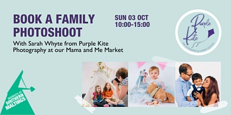 Family photoshoots with Sarah Whyte from Purple Kite Photography tickets