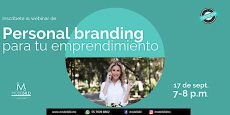 Platica GRATUITA :La importancia del branding personal en tu emprendimiento entradas