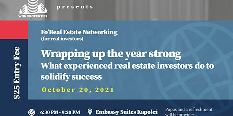 Fo Real Estate Meetup tickets
