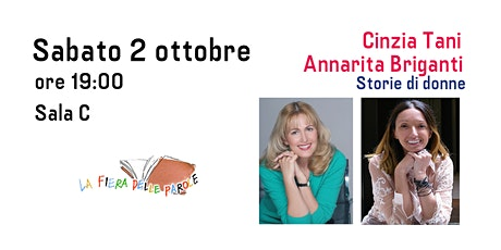 "Cinzia Tani e Annarita Briganti  ""Storie di donne"" biglietti"