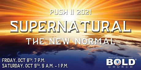 PUSH II- Supernatural: The New Normal tickets