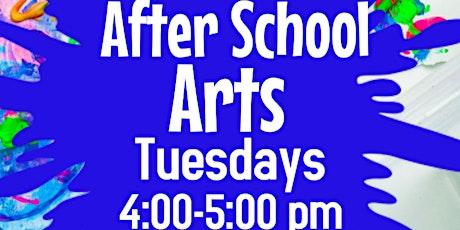 Free After School Art Program tickets