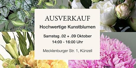 Ausverkauf Hochwertige Kunstblumen ❤️❤️ Tickets