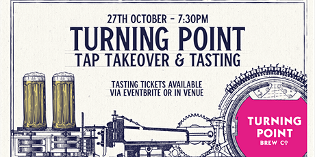 Turning Point Brew Co Tap Takeover and Tasting tickets