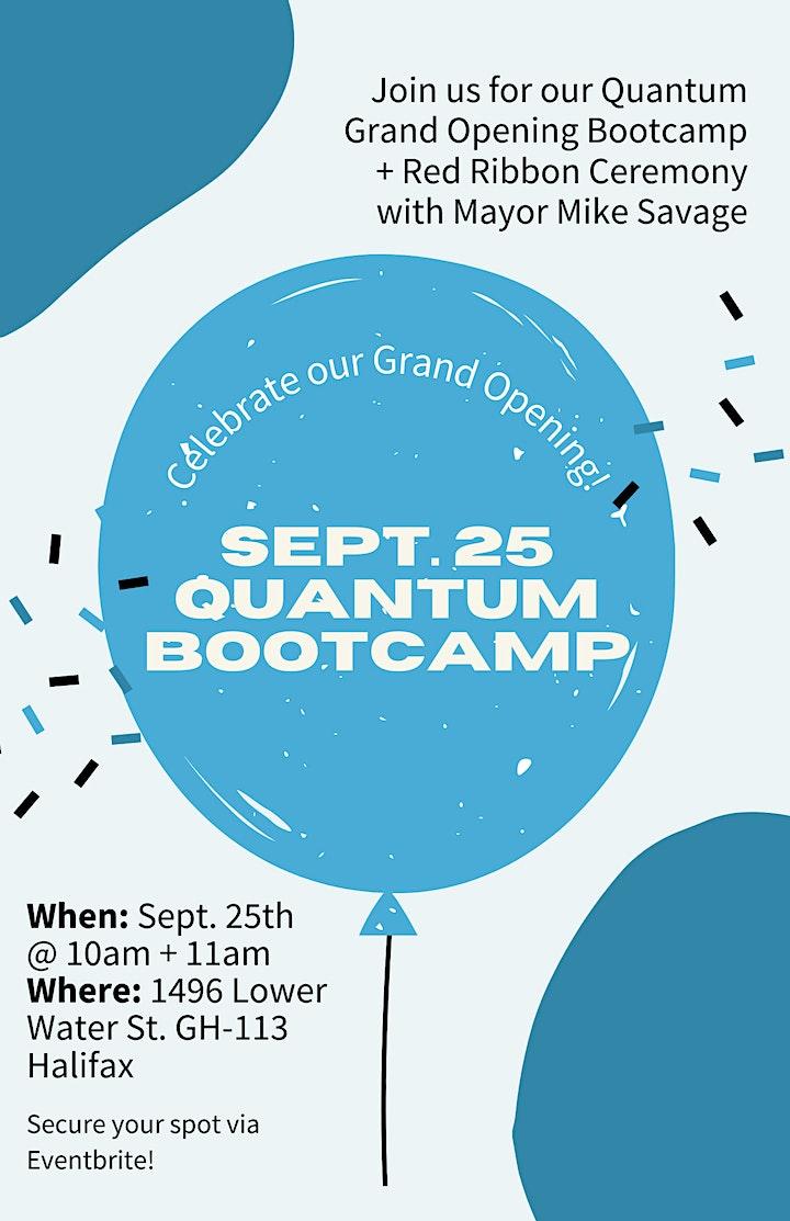 Quantum's GRAND OPENING Bootcamp - 10AM image