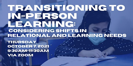 Transitioning to In-Person Learning: Considering Shifts tickets