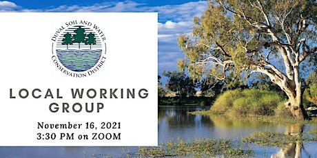 2021 Local Working Group tickets