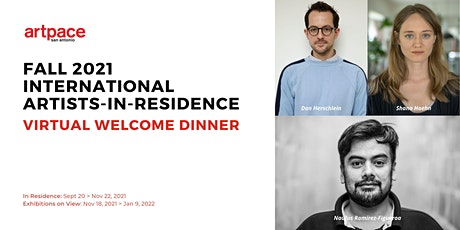Fall 2021 International Artists-In-Residence Virtual Welcome Dinner tickets