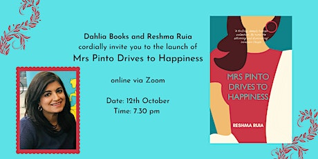 Book Launch: Mrs Pinto Drives to Happiness by Reshma Ruia tickets