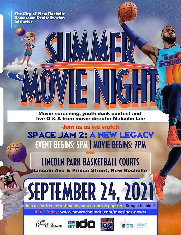 Summer Movie Night - Space Jam 2 image