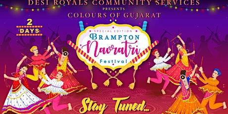 Colours of Gujarat Special Edition Brampton Navratri Festival 2021 tickets