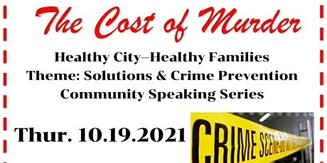 The Cost of Murder tickets