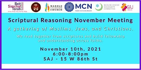 Scriptural Reasoning-November 10th Gathering tickets