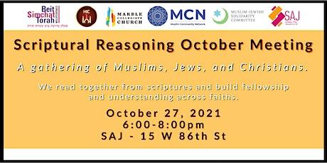 Scriptural Reasoning-October 27th Gathering tickets