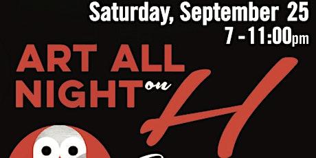 ART ALL NIGHT DC - Live Music on H Street tickets