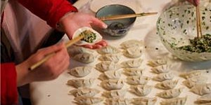Dumpling Night. With Ricefield, The Glad Cafe and CCA...