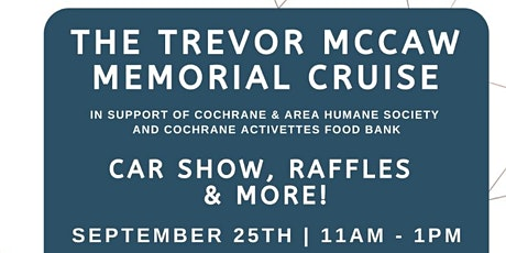 The Trevor McCaw Memorial Cruise. tickets