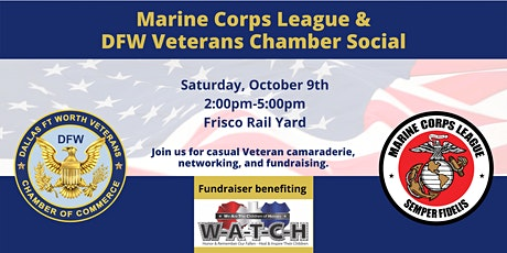 Marine Corps League & DFW Veterans Chamber Social tickets