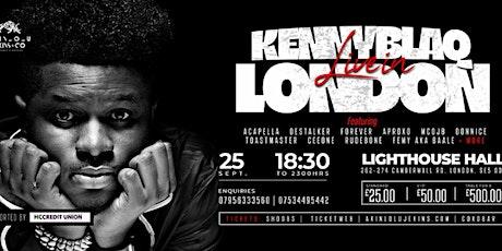 Kenny Blaq Live In London @ The LightHouse Hall w/DesStalker tickets
