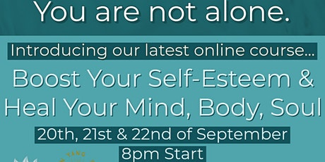 Boost Your Self Esteem & Heal Your Mind, Body, Soul with Hugh Boyd tickets
