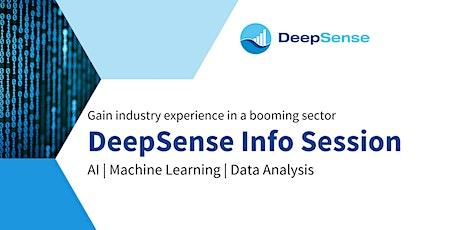 DeepSense Info Session  (Virtual) tickets