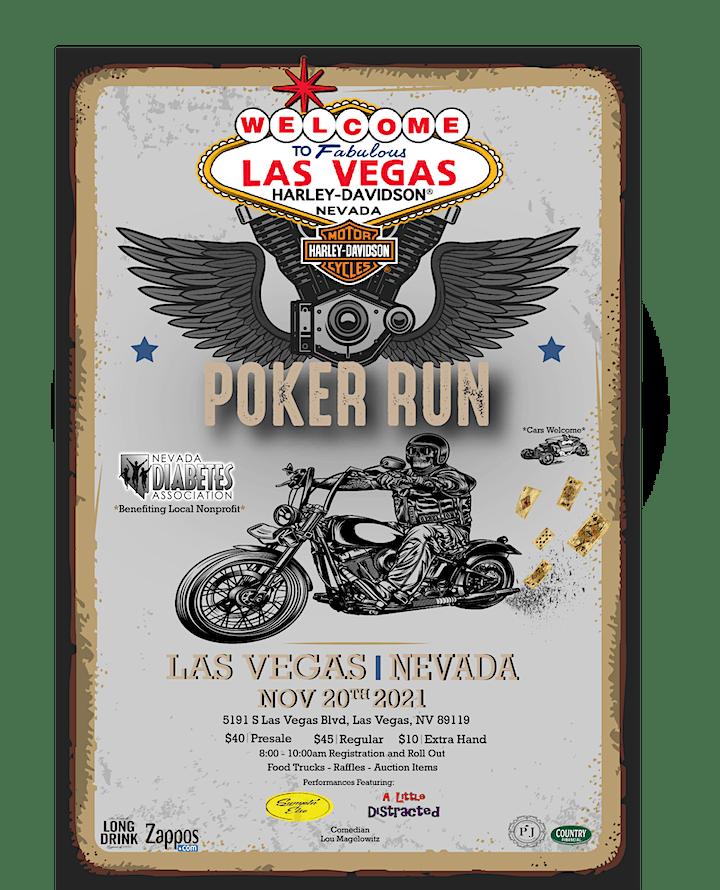NDA - Harley Davidson Poker Run image