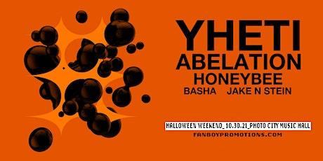 YHETI W/ Abelation - Honeybee_Halloween Party! at Photo City Music Hall tickets