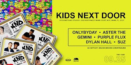 DAYWEAR X Backroom Sessions Presents : Kids Next Door tickets